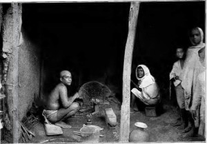 A group of Kamars, blacksmiths from Bihar