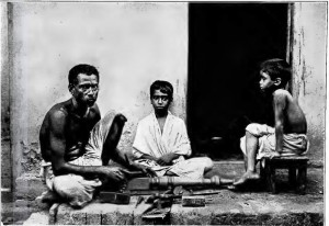 A group of Sutars, carpenters from Bengal