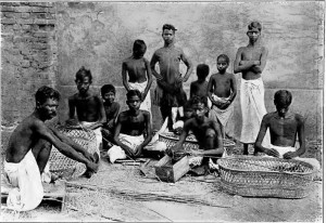 Group of Dom basket-makers from Bihar