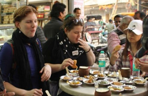 Food walks in Delhi