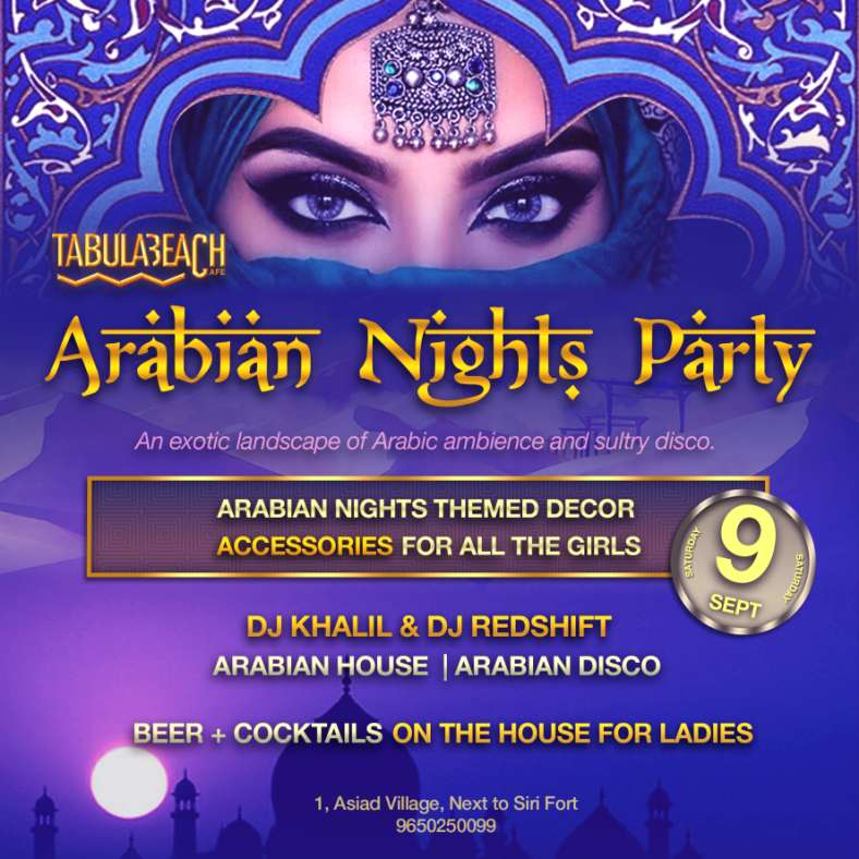Arabian Night- tabulabeach